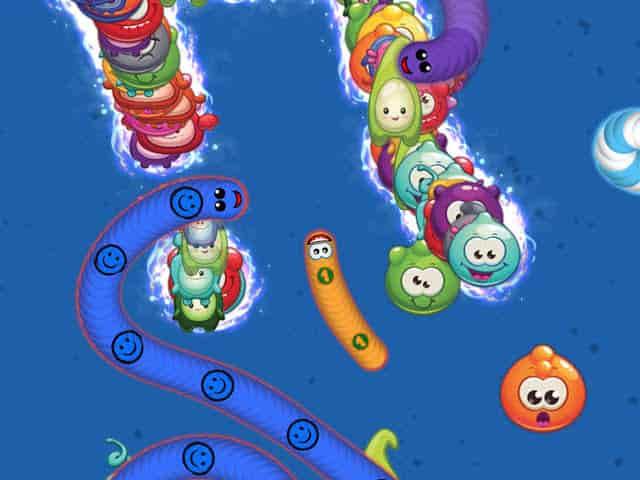 لعبة Worms Zone.io