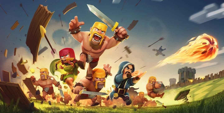 لمحة عن لعبة Clash of Clans