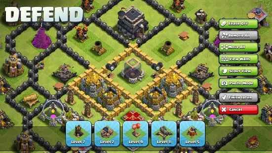 الموارد في لعبة Clash of Clans