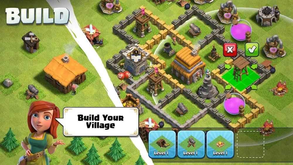 المشاركة في حروب لعبة Clash of Clans