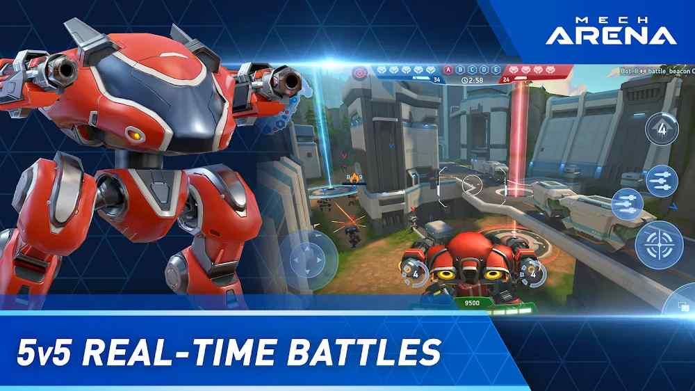 لمحة عن لعبة Mech Arena: Robot Showdown