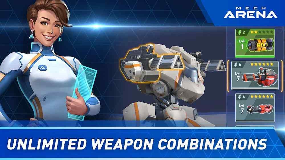 احداث كل أسبوع في لعبة Mech Arena: Robot Showdown