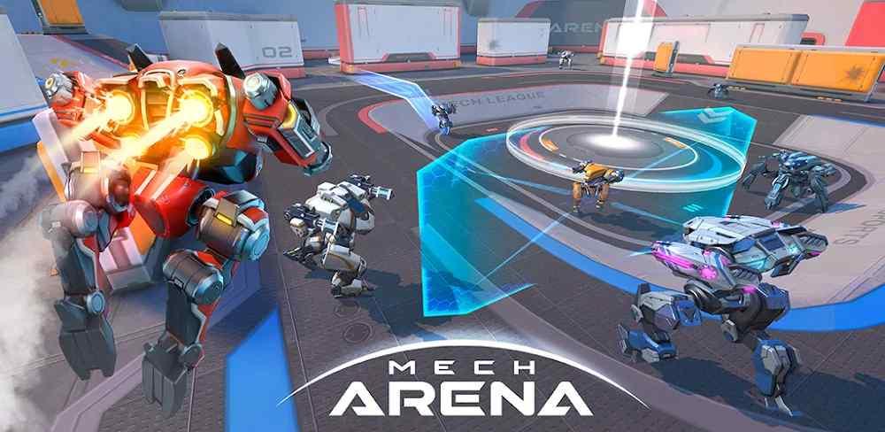 وضع عدم الاتصال داخل لعبة Mech Arena: Robot Showdown