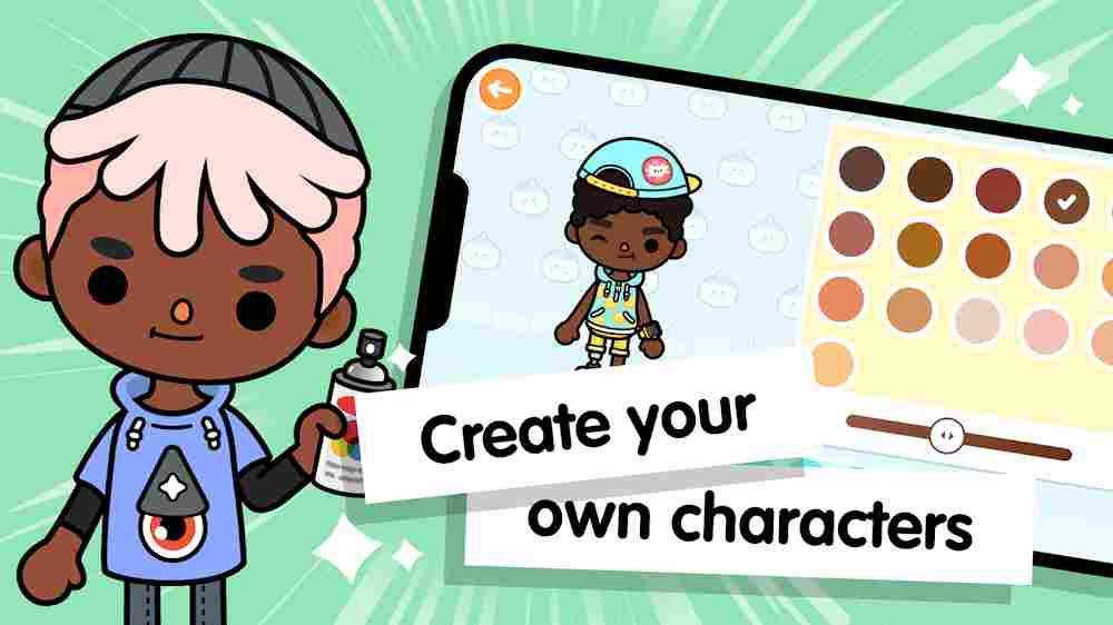 قصص اللاعبين في لعبة Toca life World