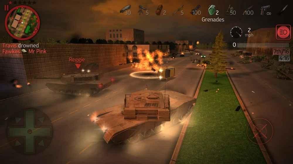 رسومات لعبة Payback 2 ثلاثية الأبعاد