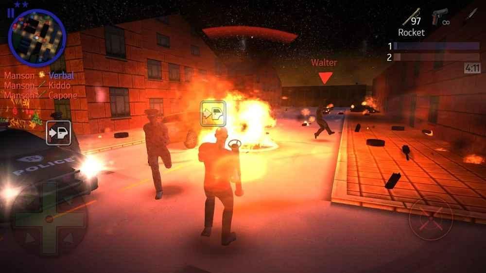 التفاعل والتحكم في لعبة Payback 2